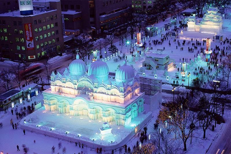 เที่ยวเทศกาลหิมะที่ซัปโปโระ ความฝันของใครหลายๆคน