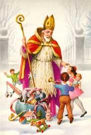 นักบุญนิโคลัส มุขนายกแห่งมิราในช่วงคริสต์ศตวรรษที่ 4